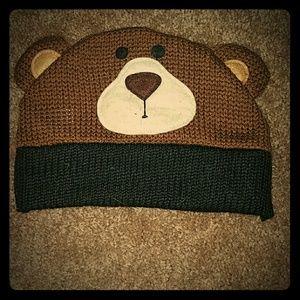 Cute bear beanie hat